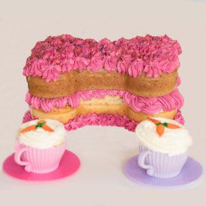 Birthday Cake Dog Treat