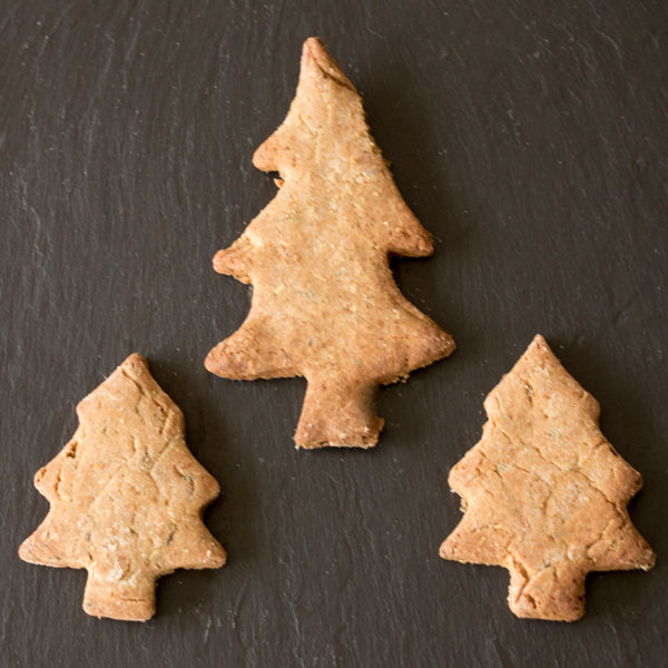 Christmas-Tree-Cookies Dog Treats